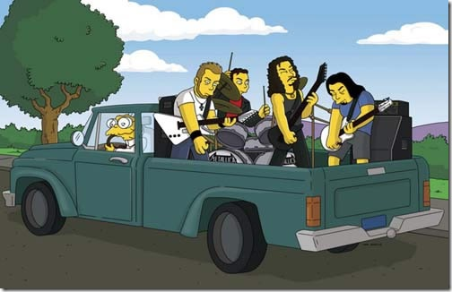 metallica_simpsons