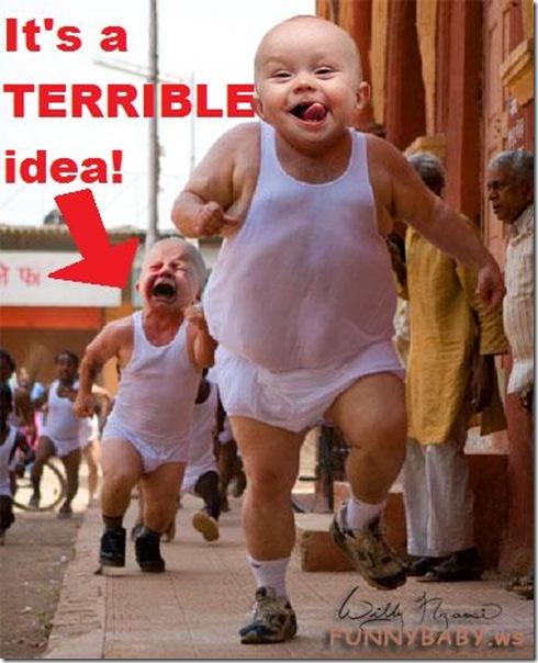 running-baby