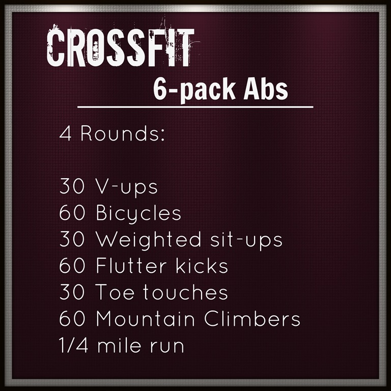 Crossfit Workout Routines: Crossfit Ab Workout